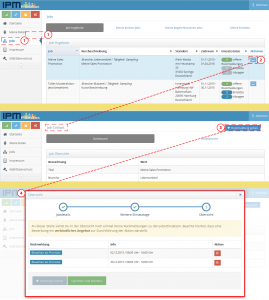 Rückmeldungsworkflow aus dem Promotersystem